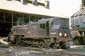 82019 - again! Nine Elms shed 14th March 1967